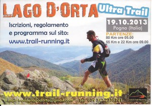 Trail running Lago D'Orta 1